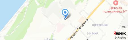 Детский сад №435 на карте Нижнего Новгорода