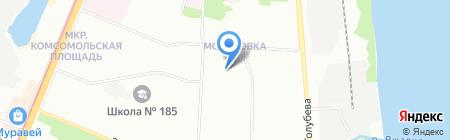 Детский сад №458 на карте Нижнего Новгорода