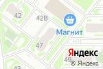 Схема проезда до компании Pizzatto! в Нижнем Новгороде