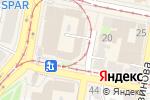 Схема проезда до компании ЭК-обувь в Нижнем Новгороде