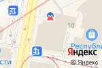 Схема проезда до компании YOTA в Нижнем Новгороде