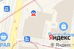 Схема проезда до компании Диана в Нижнем Новгороде