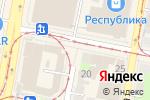 Схема проезда до компании Башня в Нижнем Новгороде