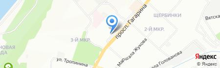 ВолосОк на карте Нижнего Новгорода