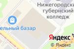 Схема проезда до компании Восток-Электро плюс в Нижнем Новгороде