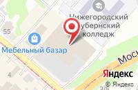 Схема проезда до компании Мебельный портал в Нижнем Новгороде