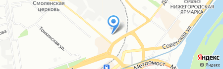 Белорусский мебельный дом на карте Нижнего Новгорода