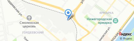 Остров сокровищ на карте Нижнего Новгорода