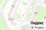 Схема проезда до компании Анастасия в Нижнем Новгороде