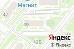 Схема проезда до компании Бетула-декор в Нижнем Новгороде