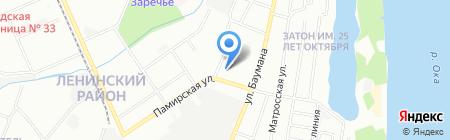 Das Haus на карте Нижнего Новгорода