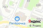 Схема проезда до компании Ле Шато в Нижнем Новгороде
