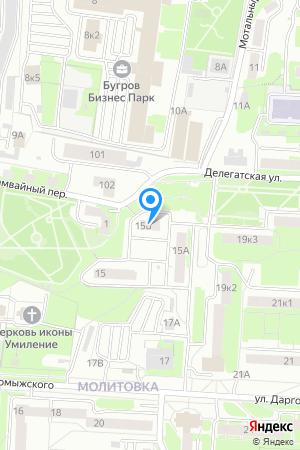Дом 15Б по ул. Даргомыжского на Яндекс.Картах