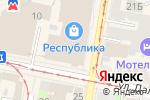 Схема проезда до компании Быстроденьги в Нижнем Новгороде