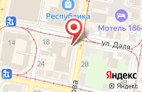 Схема проезда до компании Простор в Нижнем Новгороде