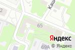 Схема проезда до компании Ютос в Нижнем Новгороде