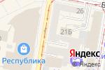 Схема проезда до компании Сезам в Нижнем Новгороде