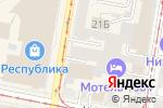Схема проезда до компании Модница в Нижнем Новгороде