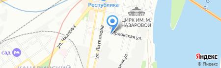 Плитка-Сантехника на карте Нижнего Новгорода