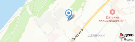 Средняя общеобразовательная школа №45 с углубленным изучением отдельных предметов на карте Нижнего Новгорода