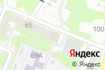 Схема проезда до компании Здоровая Индустрия в Нижнем Новгороде