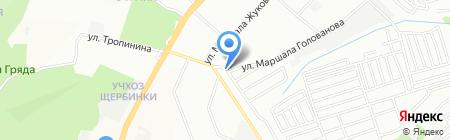 Страхование на карте Нижнего Новгорода