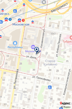 ОХРАННОЕ АГЕНТСТВО АЛЕКСАНДР на карте Нижнего Новгорода