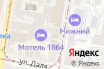 Схема проезда до компании Бар на Канавинской в Нижнем Новгороде