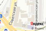Схема проезда до компании БаннерНН в Нижнем Новгороде
