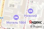 Схема проезда до компании ЭКСтрой в Нижнем Новгороде