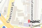 Схема проезда до компании Екатерина в Нижнем Новгороде