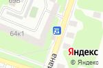Схема проезда до компании Айгюн в Нижнем Новгороде