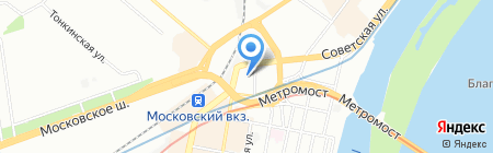 ЭКСИ на карте Нижнего Новгорода