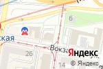 Схема проезда до компании Express mobile service в Нижнем Новгороде