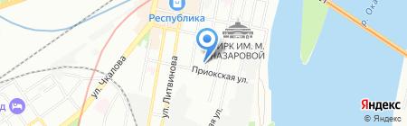 НижегородВодоканалПрибор на карте Нижнего Новгорода
