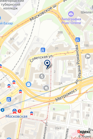 АГЕНТСТВО НЕДВИЖИМОСТИ МАК-СТАЙЛ на карте Нижнего Новгорода