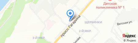 Охотник на карте Нижнего Новгорода