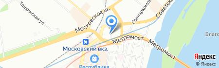 Fresh Style на карте Нижнего Новгорода
