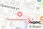 Схема проезда до компании Бюро медико-социальной экспертизы в Нижнем Новгороде