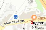 Схема проезда до компании Faberlic в Нижнем Новгороде