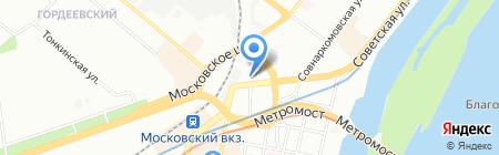 Узбечка на карте Нижнего Новгорода