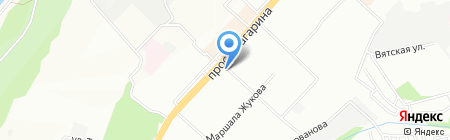 Строймастер на карте Нижнего Новгорода