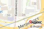 Схема проезда до компании ФТК-Фактор в Нижнем Новгороде