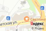 Схема проезда до компании Дарлинг в Нижнем Новгороде