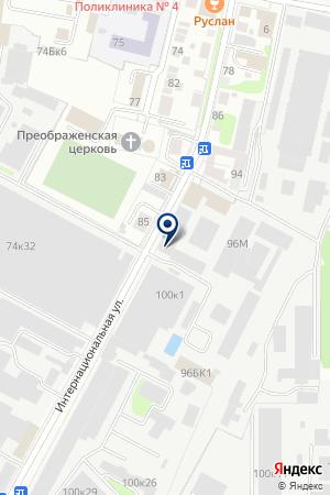 СТРОИТЕЛЬНЫЙ МИР на карте Нижнего Новгорода