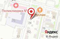 Схема проезда до компании Нов-Проджект в Нижнем Новгороде