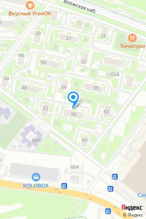 ЖК Седьмое Небо, Карла Маркса ул., 56 на Яндекс.Картах