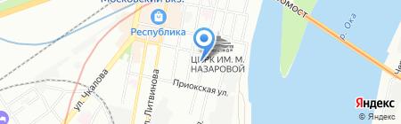ВолгаПроект-НН на карте Нижнего Новгорода