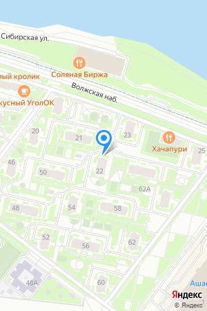 ЖК Седьмое Небо, Волжская наб., 22 на Яндекс.Картах