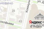 Схема проезда до компании Элетротек в Нижнем Новгороде